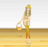 Noble Gold Color Fashion by Brandee-Ssj-Doll