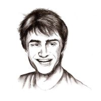 daniel radcliffe by harrynotlarry