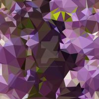 Rich Lilac Purple Abstract Low Polygon Background by apatrimonio