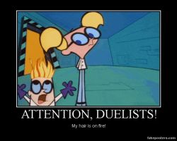 Attention, duelists by grimmjack