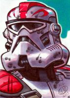Captain Fordo Phase 2 Sketch Card by Chad73