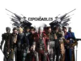 The Expendables by Dantefreak