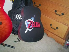 Zelda Guitar Back View by tbowen