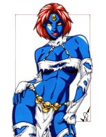 Savage Land Mystique by gb2k
