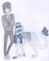 Garth and Clue: Cosplaying Black Butler by RainingRaven