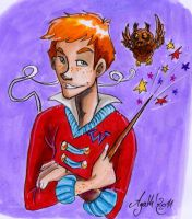 CF card: Ron Weasley by Agatha-Macpie