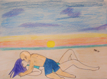 Contest Entry: Romance on the Beach by Mewmew34