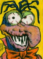 Gonzo The Great Has Seen Better Days Sketch Card by ragzdandelion