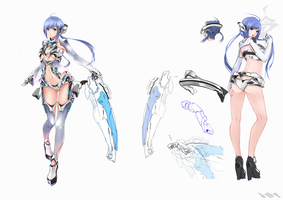 [design] Gijinka : Intel by HiroHatakeyama