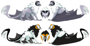 Skaivon Adoptables Double Auction 3 - CLOSED by Karijn-s-Basement