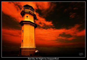 Red Sky At Night by SnapperRod