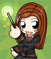 Ginny Weasley - Harry Potter by amy-art