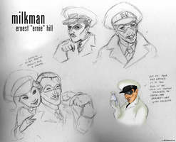 BDL: Milkman by tranimation-art
