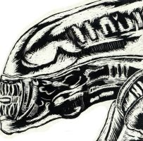 Gigers Alien by YouCannotFalter
