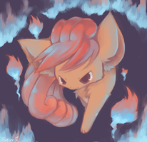 vulpix by Effier-sxy