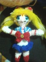 Sailor Moon Amigurumi by LGhost