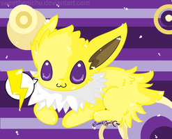 I BE A JOLTEON: SPARKSPARK by SweetBeriiChu