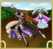 CE: Princess Snowbell and Manna by CL-Pinkskull