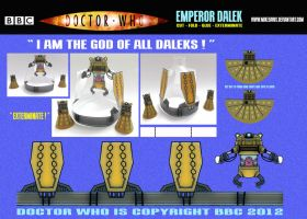 Doctor Who - New Series Emperor Dalek by mikedaws