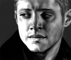 Dean Winchester - Jensen Ackles - Supernatural by Aquila--Audax