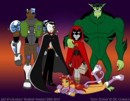 Halloween-TeenTitan's Style by Gilarin