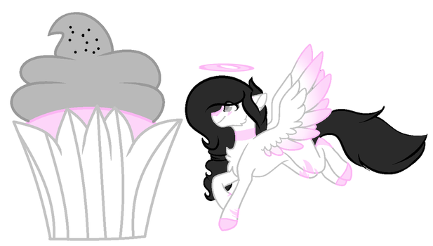 Mysterious Cupcake Theme Pony 6 by OhHoneyBell