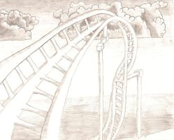 Roller Coaster 1 by parallellogic
