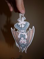Paper demon child by Erry