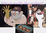 Gravity Falls: Who really is the author? by Silversmicee