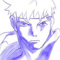 simple ryu sketch practice by Tete-chin