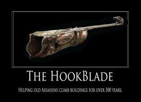 Assassins Creed HookBlade by eevank