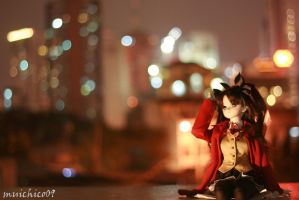 Rin in the City by coffeebugg