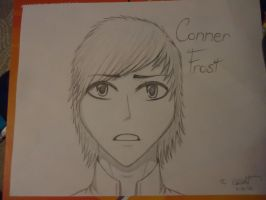 OC-Conner Frost-Sketch by 6-9Changeling