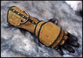 Steampunk Gauntlet - The Piston by SteamViking