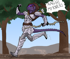 That Argonian Troll by Zerna