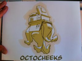 OCTOCHEEKS 2012 Artbook is here! by cheeks-74