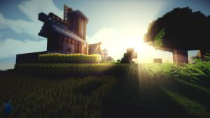 Minecraft Millfield Wallpaper by lpzdesign
