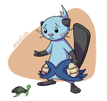 11 - Water - Dewott by meglish