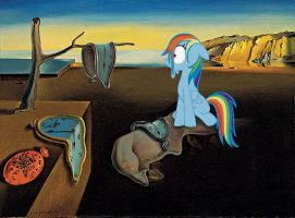 The Persistence of Memory With A MLP Twist by TheGreenMachine987