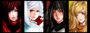 RWBY by kunoichi-anime-angel