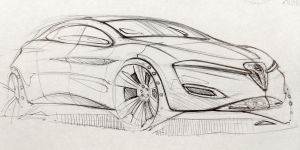 Alfa Romeo Sketch by Powerblock
