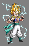Gotenks SSJ2 by hsvhrt