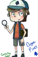 Gravity Falls: Dipper Pines by 14Japanfan