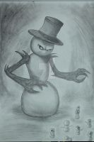 snow monster by williamZJ