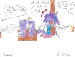 Sash Lilac Tickled by Quinstiff