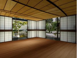 Zen House 2 by YuffieDark