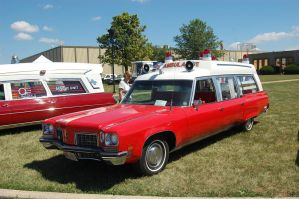 1972 Oldsmobile 88 Ambulance by JDAWG9806