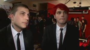NME Awards With Frerard 2 by fallendisasters