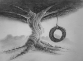Tire swing by Dinaria