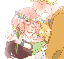 Naruto AU - Happy Mother's Day by Kirabook